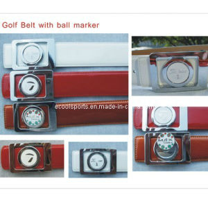 Top Quality Leather Golf Belt with Ball Marker for Outdoor pictures & photos