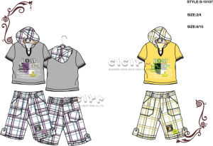 Boy′s 2 PCS Set (S10107)