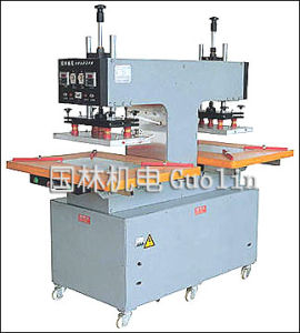 Two-Position Rotary Silicon / PVC Logo Machine (GL-5DT/Q)
