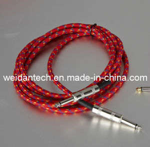 H. Q 6.3mm Mono Electric Guitar Link Cable pictures & photos