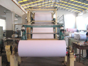 A4 Paper Machine (1092mm) 2015 New Design Advanced 1575mm Type A4 Printing Paper Machine pictures & photos