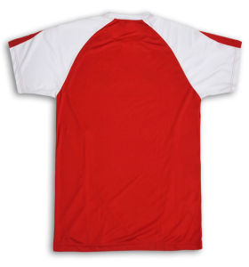 Promotion Sports T Shirt Red with Plain White T-Shirts pictures & photos