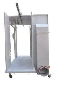 Tunnel Powder Spray Booth with CE and RoHS Certification pictures & photos