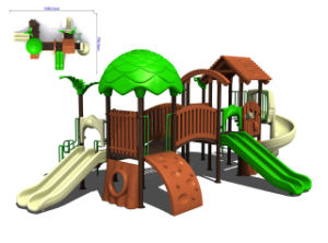 Theme Ourdoor Playground-Wooden House Series (9-901)