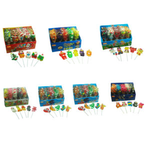 Animal Jelly Lollipop (CWS2470) Jelly Pop Candy