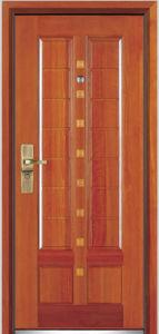 Steel Wooden Armored Door (YF-G9019) pictures & photos