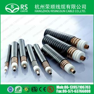"1-1/4"" Super Flexible Helical Feeder Cable Heliax Coax Cable"