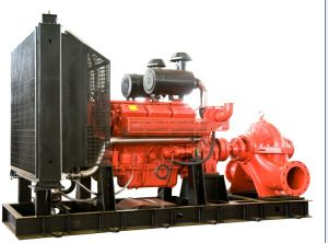 Diesel Engine Fire Fighting Pump with CE Certificates pictures & photos