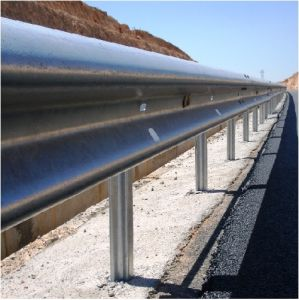 HDG Steel W Beam Highway Guardrail pictures & photos