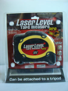 7.5m Laser Level Tape Measure (QY-LL750) pictures & photos