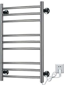 Kma67 Curved Tube Stainless Steel Electric Towel Warmers