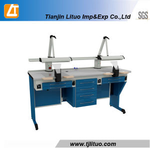 for Clinic/Lab Dental Technician Bench Workstation pictures & photos