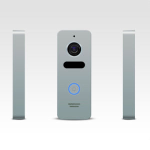 Memory Interphone Doorbell Home Security 4.3 Inches Intercom Video Doorphone pictures & photos
