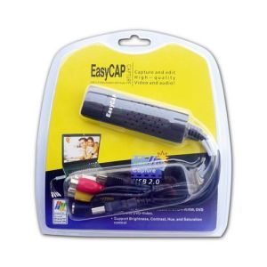 USB 2.0 Video Adapter With Audio Channel (W722-1)