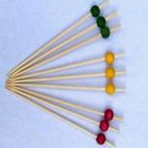 Bamboo Fruit Sticks (HYS013)