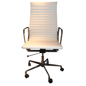 Modern Eames Office Chair in White Leather (Z0038) pictures & photos