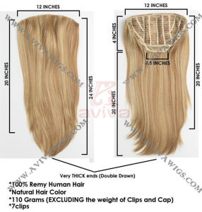 Clip on Hair Extension (AV-HE0199) pictures & photos