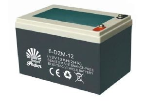 E-Bike Battery 12V 12AH with CE UL Certificate Called SP6-DZM-12 pictures & photos