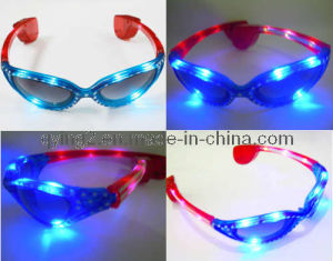 LED Flashing Party Glasses (QY-LS009) pictures & photos