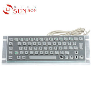 Metal Keyboard Work for Kiosk and Industrial (SPC265A)
