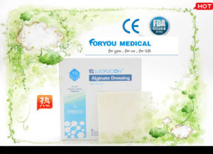 Huizhou Foryou Medical Moist Wound Healing Alginate Fiber Wound Dressing Alginate Wound Dressing pictures & photos