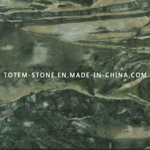 Green Jade Stone Marble for Mosaic Flooring Tile pictures & photos
