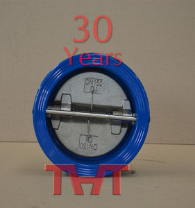 Wafer Butterfly Check Valve/ Manual Operator (DH77XX-16) pictures & photos