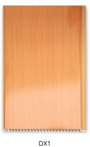 16cm PVC Wall Panel with Wooden Design (DX1) pictures & photos