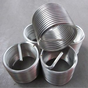 Stainless Steel Color Thread Insert for Cast Iron