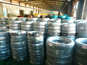 SAE 100r2 at High Quality Steel Reinforced Rubber Hose pictures & photos