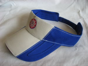 Sandwich Brim Sun Visor Cap for Adult with Embroidery pictures & photos