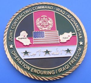 Custom Military Rope Edge Challenge Coin (ASNY-JL-MC-12112003) pictures & photos