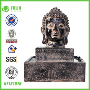Waterfall Resin Buddha Water Fountain (NF13107H)