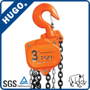 High Quanlity Manual Hoist 5 Ton Chain Pulley Block pictures & photos