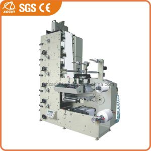 5 Colors Paper Label Flexographic Printing Machine (AC320-5B) pictures & photos