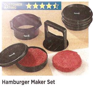Hamburger Patty Maker Set