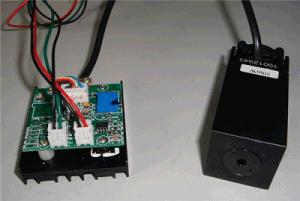 100mw Industrial Green Line Laser Module (XL-532UL100)