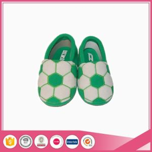 Football Embroidery Custom Made Children Slippers pictures & photos