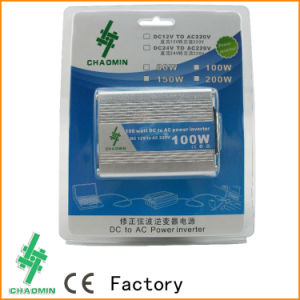 High Frequency DC12V AC110V/220V 100W Car Inverter