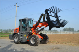 2000kg 5.1m Lifting Height Telescopic Wheel Loader Telescopic Forklift pictures & photos