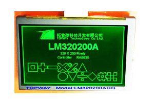"320X200 4.7"" Graphic LCD Display Cog Type LCD Module (LM320200A) pictures & photos"