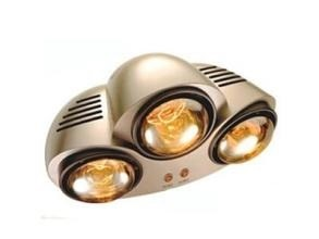 High Quality Bathroom Infrared Lamp Heater with Two Lamps pictures & photos