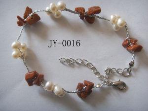 Pearl Bracelet, Stone Beads Bracelet (JY-0016)