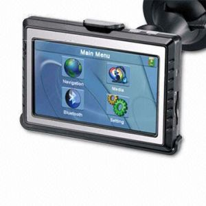 3.5 inch Touchscreen GPS Car Navigation Camera with PMP and Outside Speaker