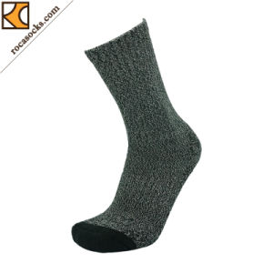 Winter Worker Twist Yarn Comb Cotton Socks (162034SK) pictures & photos