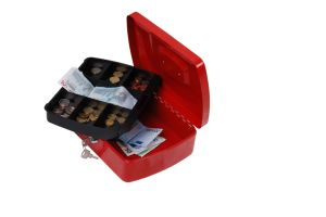 Money Box with Additional Storage Under Cash Tray pictures & photos