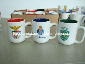 15oz Ceramic Mug, Promotional Ceramic Mug, Two Tone Ceramic Mug pictures & photos