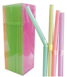 Plastic Flexible Straws pictures & photos