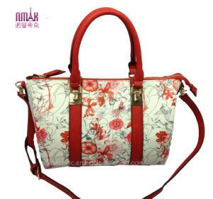 2014 New Print Flower Lady Tote Bags (N-1097)
