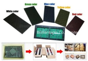 Wholesale Signel Color LED Display Module, LED Cell Board for Advertising pictures & photos